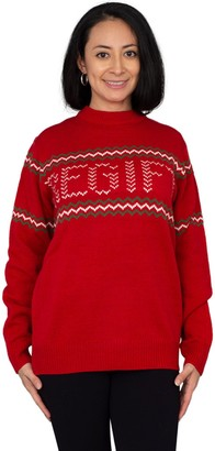 Ugly Sweater Company Red Regift Ugly ChristmasSweater