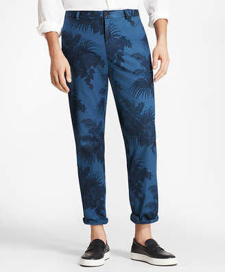 Brooks Brothers Clark Fit Tropical Print Pants