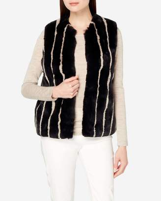 N.Peal Reversible Fur/Cashmere Vest