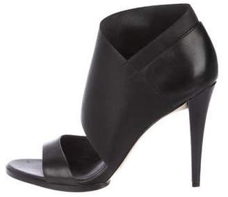 Calvin Klein Leather High Heel Sandals