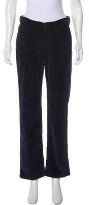 Loro Piana Mid-Rise Straight-Leg Pants