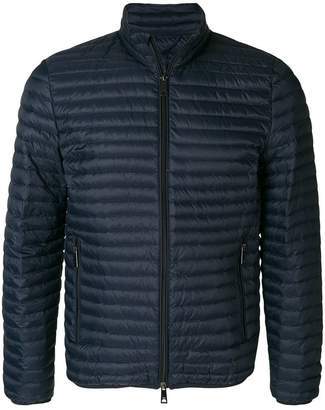 Emporio Armani padded zip-up jacket