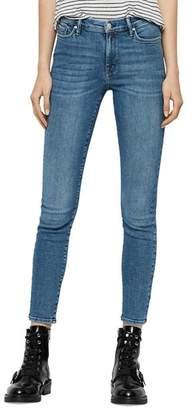 AllSaints Grace Ankle Skinny Jeans in Indigo Blue