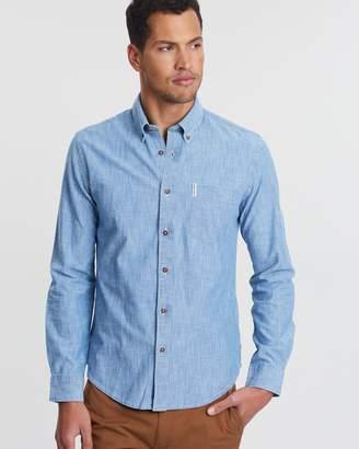 Ben Sherman LS Chambray Shirt