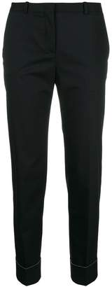 Fabiana Filippi cuff tapered trousers