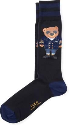 Ralph Lauren Blazer Polo Bear Trouser Socks