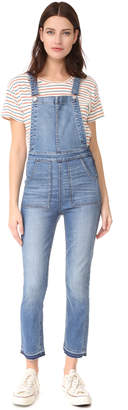 Madewell Skinny Overalls $148 thestylecure.com