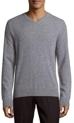 Saks Fifth Avenue BLACK Knitted Cashmere Sweater