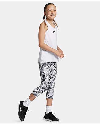 60599d46c Nike Big Girls Pro Printed Capris