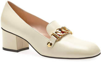 Gucci Sylvie Leather 55mm Loafer