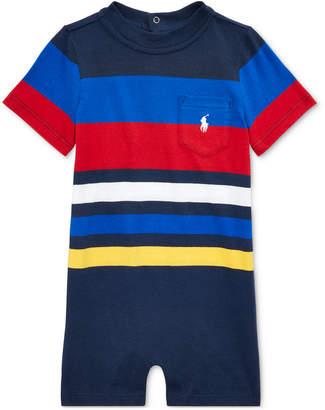 8304731af Polo Ralph Lauren Baby Boys Striped Cotton Shortall