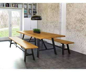 Copeland Furniture Modern Farmhouse Solid Wood Dining Table Copeland Furniture
