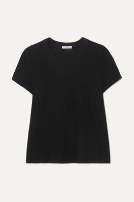 James Perse Vintage Boy Cotton-jersey T-shirt - Black