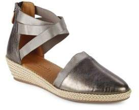Kenneth Cole Gentle Souls by Noabeth Metallic Leather Sandals