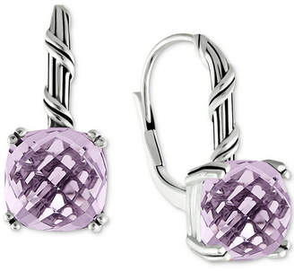 Peter Thomas Roth Lavender Amethyst Drop Earrings (8 ct. t.w.) in Sterling Silver (Also Available in Rose Quartz)