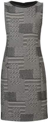 Akris Punto printed shift mini dress