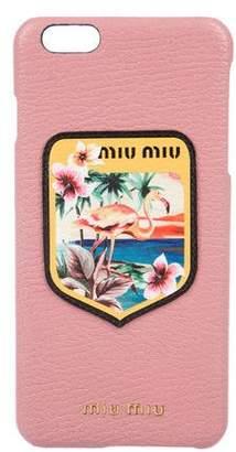 Miu Miu Flamingo Badge iPhone 6 Plus