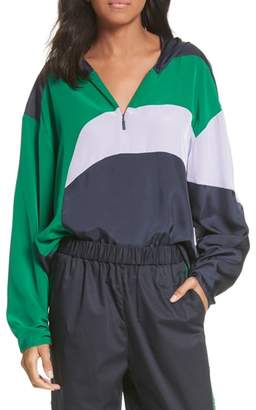 Tibi Hooded Jacket