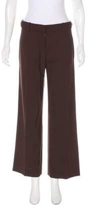 Tory Burch Mid-Rise Wool Pants
