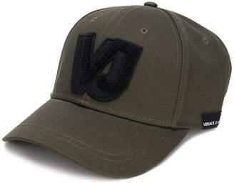 Versace logo applique baseball cap