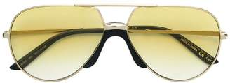 Gucci yellow lens aviator frames