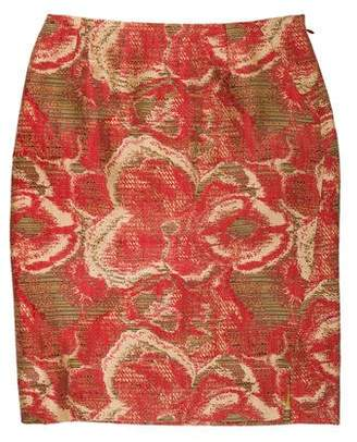 Christian Lacroix Patterned Knee-Length Skirt