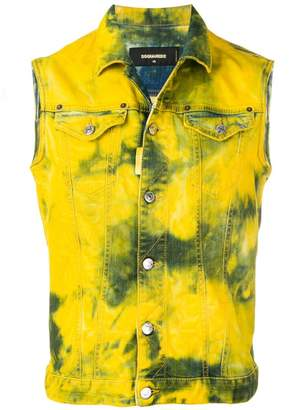 DSQUARED2 sleeveless denim jacket