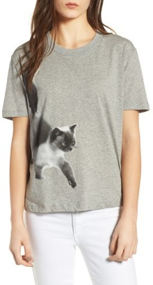Women's Paul & Joe Sister Cat Print Graphic Tee