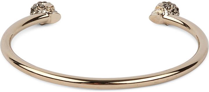 Alexander McQueenAlexander Mcqueen Twin Skull Bracelet