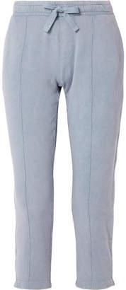 ATM Anthony Thomas Melillo Chroma Cotton-terry Track Pants - Blue