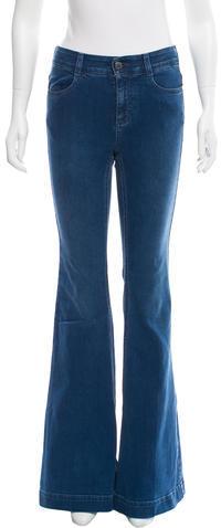 Stella McCartneyStella McCartney Mid-Rise Flared Jeans w/ Tags