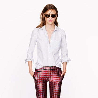 J.Crew Boy shirt in oxford stripe
