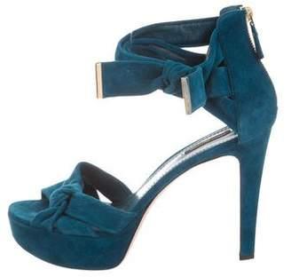 Louis Vuitton Knot Platform Sandals