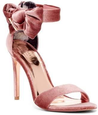 Ted Baker Torabel Velvet Bow Stiletto Heel