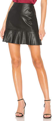 BCBGMAXAZRIA Dropped Flare Skirt