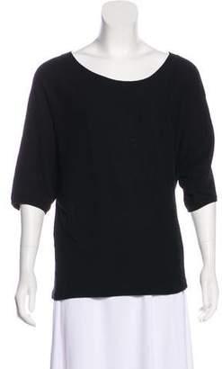 Vince Cashmere Short Sleeve Top