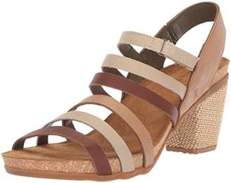 El Naturalista Women's N5030 Soft Grain /Mola Heeled Sandal