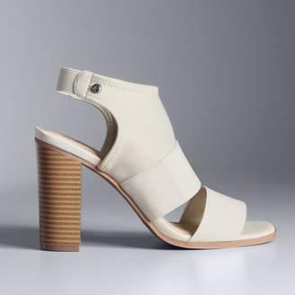 Vera Wang Simply Vera Candle Women's High Heel Sandals