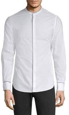 Officine Generale Gaspard Cotton Poplin Shirt