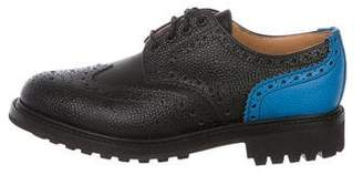 Mark McNairy New Amsterdam Pebble Leather Wingtip Derby Brogues w/ Tags