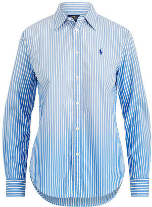 Polo Ralph Lauren Relaxed Fit Striped Shirt $125 thestylecure.com