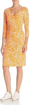 St. Emile Pablo Printed Crossover Dress $395 thestylecure.com