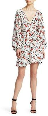 A.L.C. Carlo Floral Wrap Dress