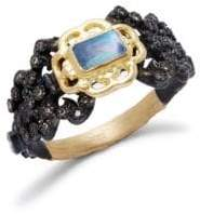 Armenta Diamond and Gemstone 18K Gold Ring