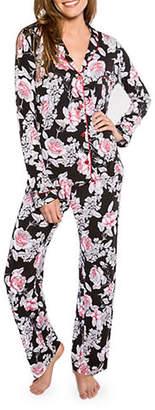 PJ Salvage Rock N' Rose Floral Pajama Set