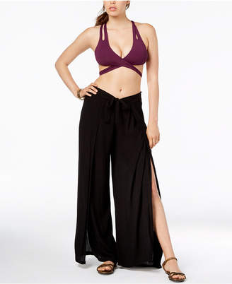 Becca Tie-Front Cover-Up Pants Women's Swimsuit