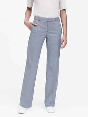 Banana Republic Petite Logan Trouser-Fit Washable Wool-Blend Pant
