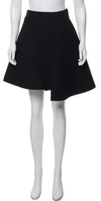 Fausto Puglisi Wool Knee-Length Skirt