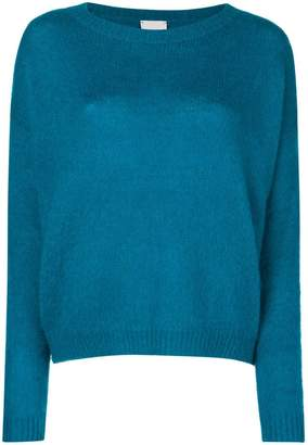 Alysi long-sleeve fitted sweater