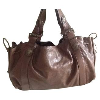 Gerard Darel 24 H leather handbag